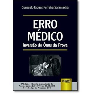 Livro - Erro Médico - Inversão do Ônus da Prova - Salamacha