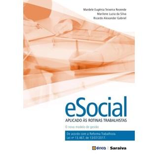 Livro - eSocial Aplicado Às Rotinas Trabalhistas - Rezende