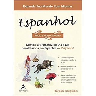 Livro - Espanhol Fácil e Passo a Passo - Bregstein