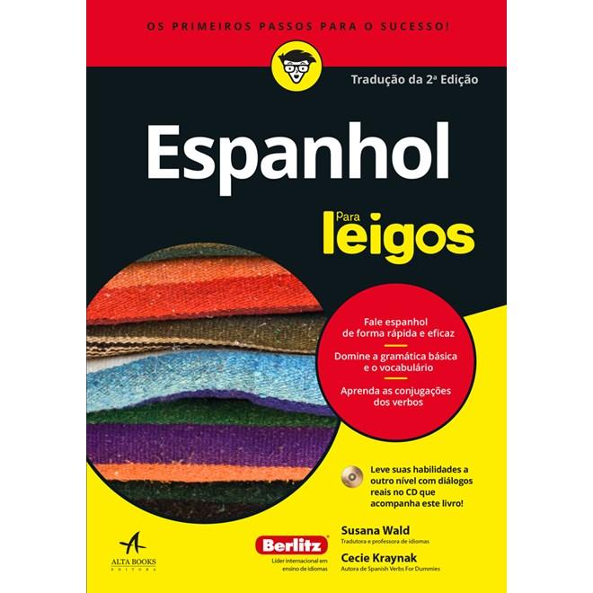 Livro - Espanhol Para Leigos - Wald - Alta Books