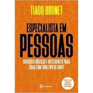 Livro - Especialista em Pessoas - Brunet - Planeta