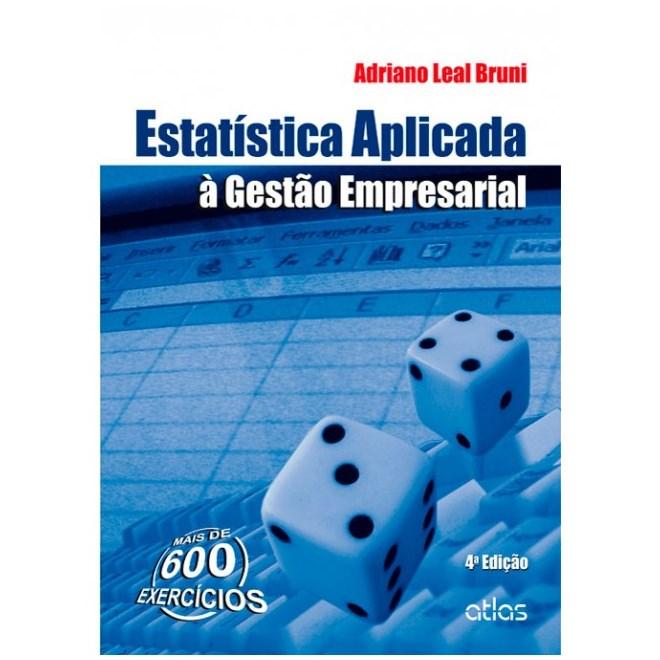 Livro - Estatística Aplicada à Gestão Empresarial - Bruni