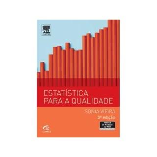 Livro - Estatística Para a Qualidade - Vieira