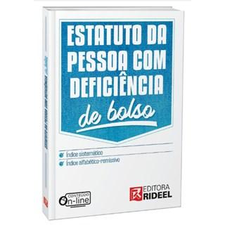 Livro - Estatuto da Pessoa com Deficiência - De Bolso - 1ª edição
