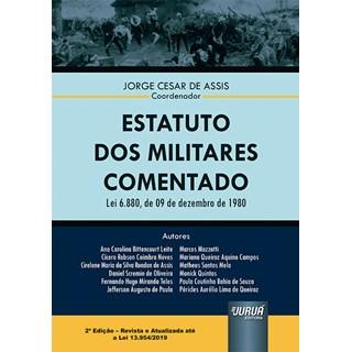 Livro Estatuto dos Militares Comentado - Assis - Juruá