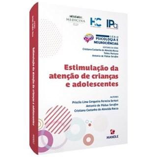 Livro - Estimulação da atenção de crianças e adolescentes - Sertori 1º edição