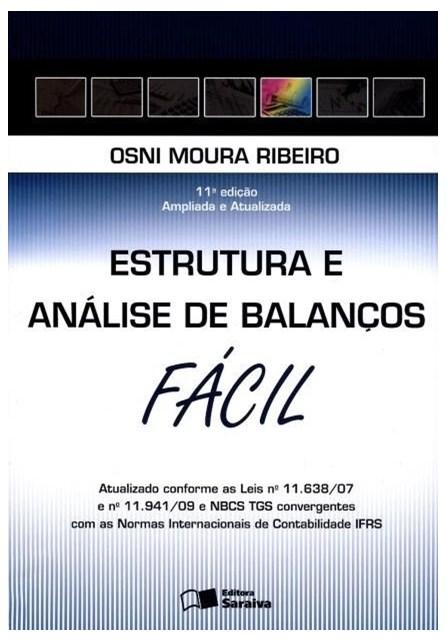 Livro - Estrutura e Análise de Balanços Fácil - Ribeiro