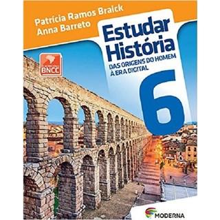 Livro - Estudar História - 6 Ano - Braick - Moderna