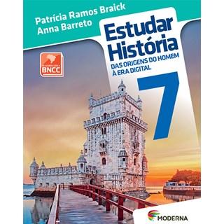 Livro - Estudar História - 7 Ano - Braick - Moderna