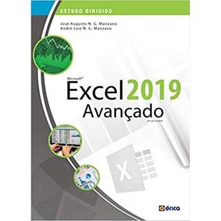 Livro - Estudo Dirigido De Microsoft Excel 2019: Avançado - Manzano