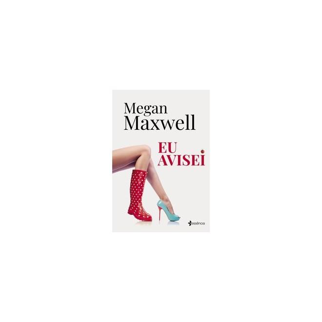 Livro - Eu avisei - Maxwell 1º edição