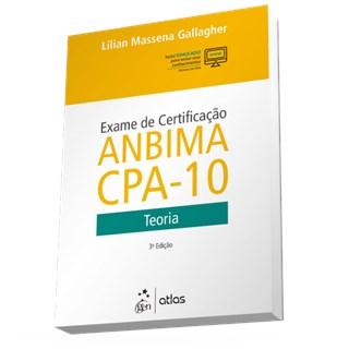 Livro - Exame de Certificação Anbima CPA-10 - Teoria - Gallagher
