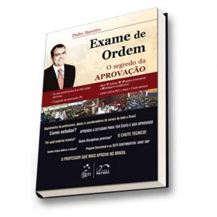 Livro - Exame de Ordem - O Segredo da Aprovação - Barreto