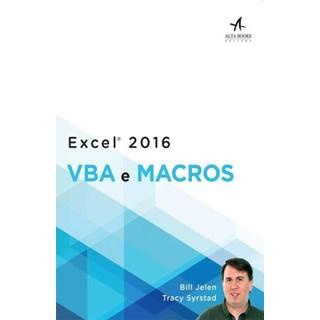 Livro -Excel 2016 - Vba e Macros - Jelen