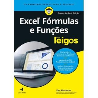 Livro - Excel Fórmulas e Funções para Leigos - Bluttman