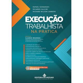 Livro Execução Trabalhista Na Prática - Guimarães - Jh Mizuno