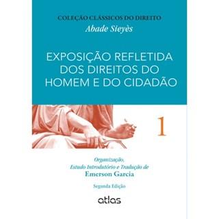 Livro - Exposição Refletida dos Direitos do Homem e do Cidadão - Vol. 1 - Garcia