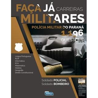Livro - Faca Já Carreiras Militares 1196 Questôes - Alfacon