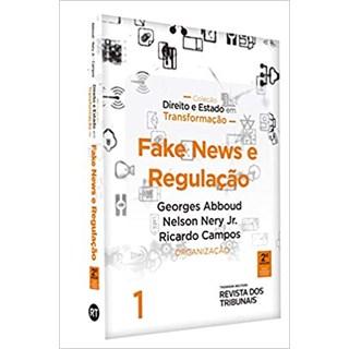 Livro - Fake News e Regulação - Campos - Revista dos Tribunais