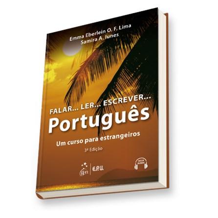 Livro - Falar... Ler... Escrever... Português - Um Curso para Estrangeiros - Lima