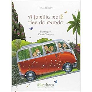 Livro Família Mais Rica do Mundo, A - Ribeiro - Mais Ativos