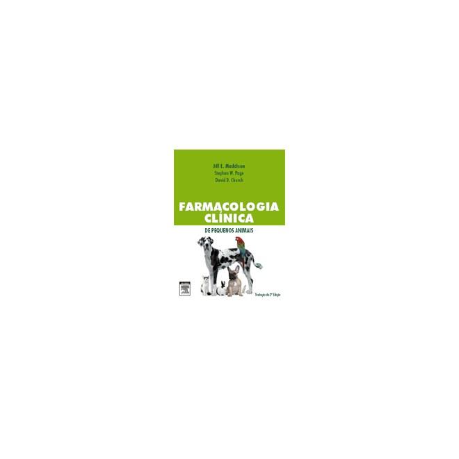 Livro - Farmacologia Clínica de Pequenos Animais - Maddison #