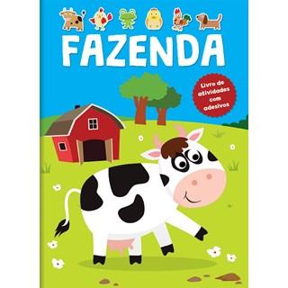 Livro - Fazenda - Livro De Atividades Com Adesivos - Constant