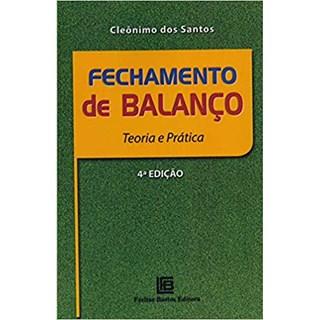 Livro - Fechamento de Balanço - Santos