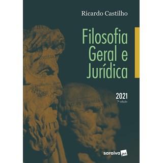 Livro Filosofia Geral e Jurídica - Castilho - Saraiva