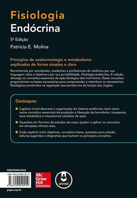 Livro - Fisiologia Endócrina (Lange)- Série Fisiologia - Molina