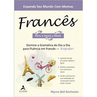 Livro - Francês Fácil e Passo a Passo - Rochester