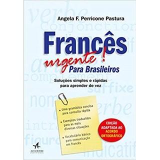 Livro - Francês Urgente Para Brasileiros -Pastura