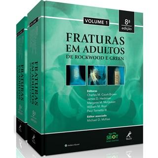 Livro - Fraturas em Adultos - Rockwood - 8a edição- 2 volumes