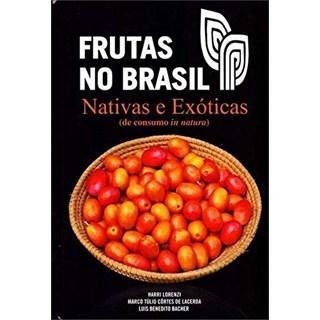 Livro Frutas no Brasil - Lorenzi - Plantarum