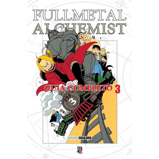 Livro - Fullmetal Alchemist - Guia Especial - Livro 3 - Jbc