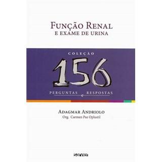 Livro - Função Renal e Urina - Coleção 156 Perguntas e Respostas - Oplustil