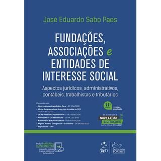 Livro Fundações, Associações e Entidades de Interesse Social - Paes - Forense