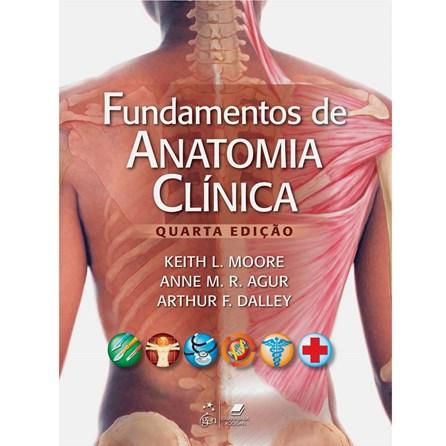 Livro - Fundamentos de Anatomia Clínica - Moore