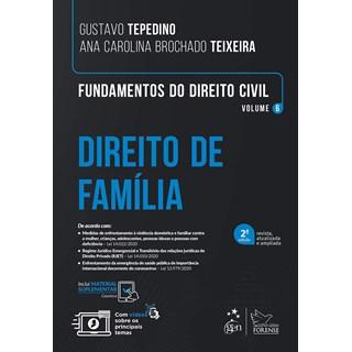 Livro - Fundamentos de Direito Civil - Vol. 6 - Direito de Família - TEPEDINO 1º edição