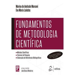 Livro Fundamentos de Metodologia Científica - Marconi - Atlas