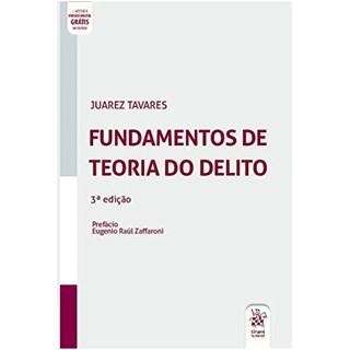 Livro Fundamentos de Teoria do Delito - Tavares - Tirant