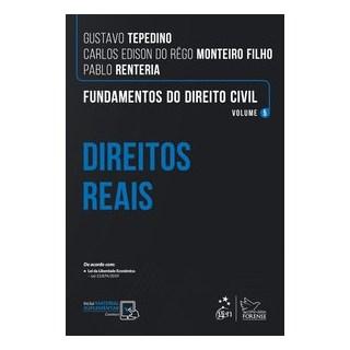Livro Fundamentos do Direito Civil: Direitos Reais - Tepedino - Forense