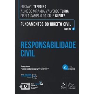 Livro Fundamentos do Direito Civil: Responsabilidade Civil - Tepedino - Forense