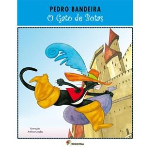 Livro Gato de Botas, O - Pedro Bandeira - Moderna