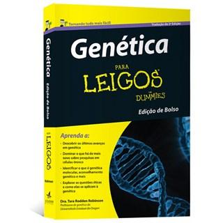 Livro - Genética Para Leigos - Edição de bolso - Robinson