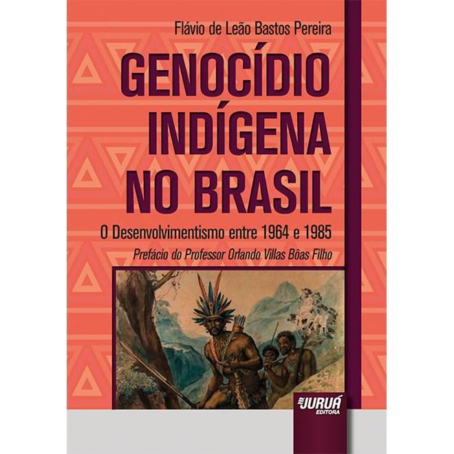 Livro - Genocídio Indígena no Brasil - Pereira - Juruá