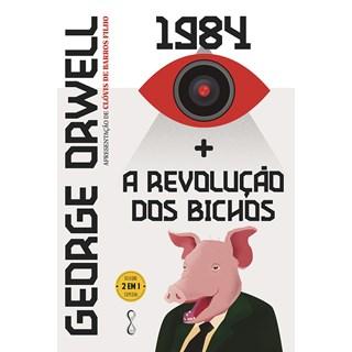 Livro George Orwell: 1984 + A revolução dos bichos