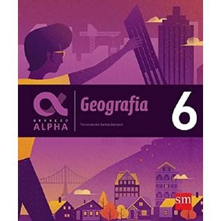 Livro - Geração Alpha Geografia - 6 Ano - SM