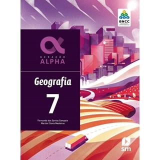 Livro - Geração Alpha Geografia - 7 Ano - BNCC - SM