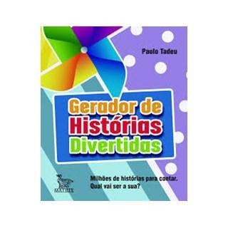 Livro - Gerador de Histórias Divertidas -  Tadeu - Baralho